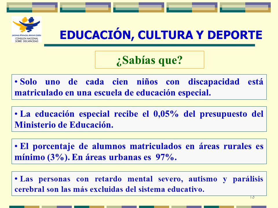 EDUCACIÓN, CULTURA Y DEPORTE