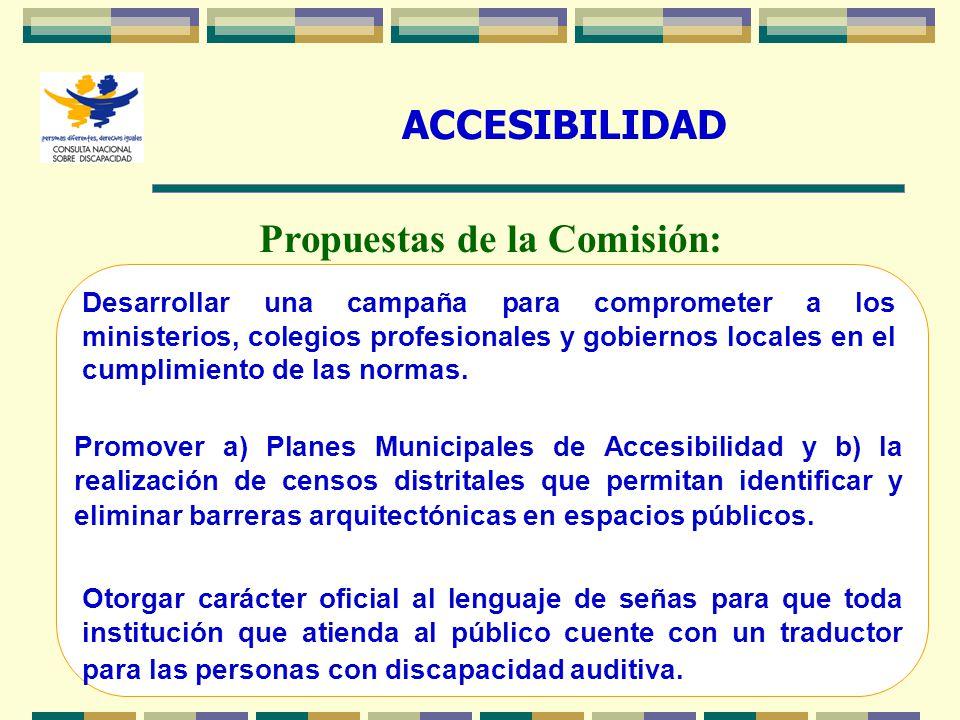 Propuestas de la Comisión: