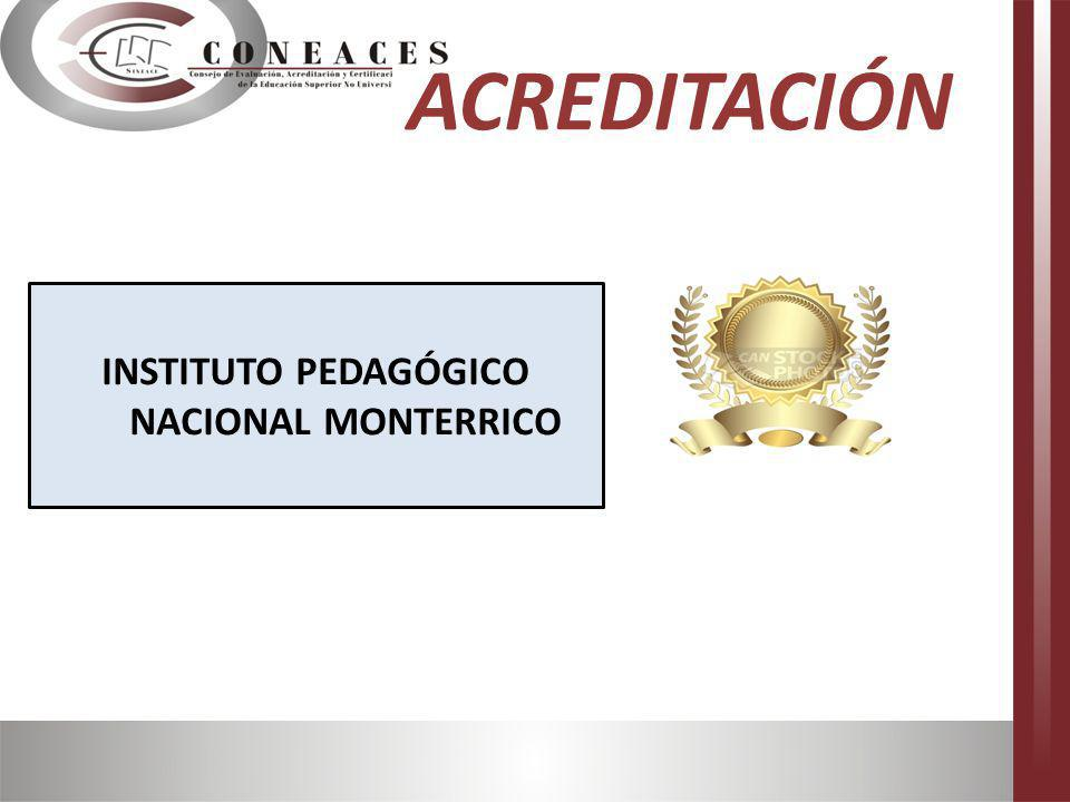 INSTITUTO PEDAGÓGICO NACIONAL MONTERRICO