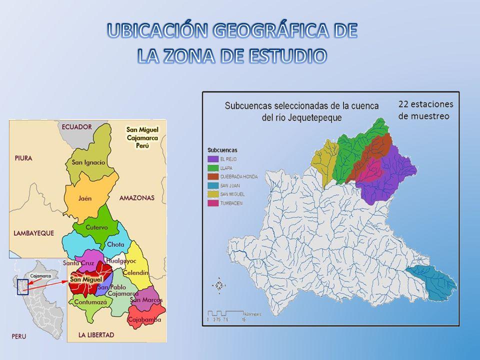 UBICACIÓN GEOGRÁFICA DE