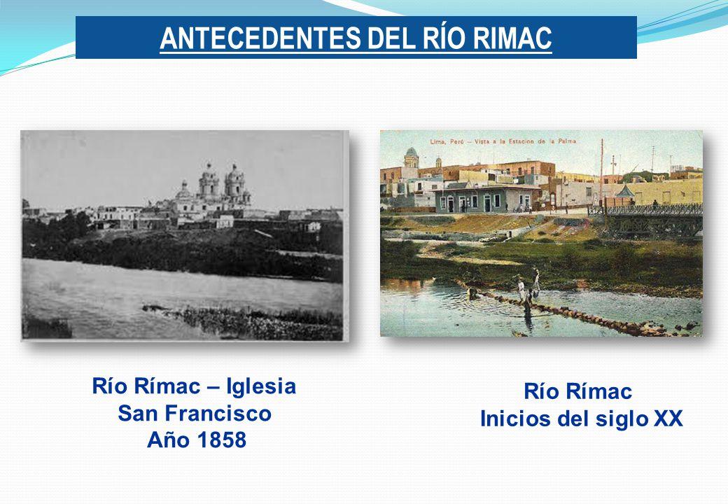 ANTECEDENTES DEL RÍO RIMAC