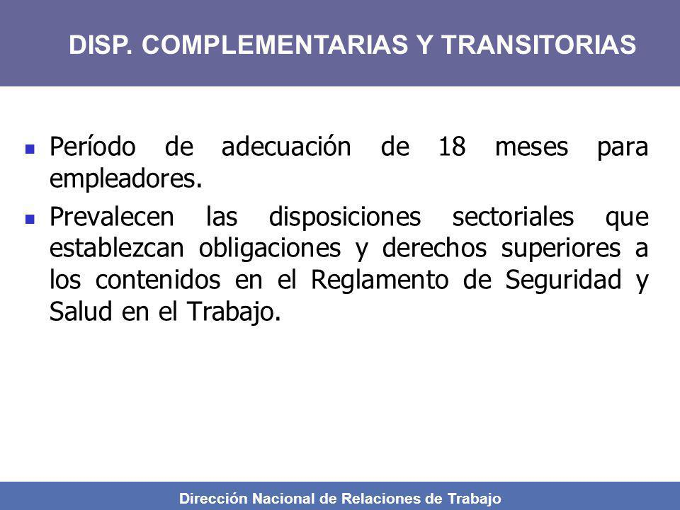 Dirección Nacional de Relaciones de Trabajo