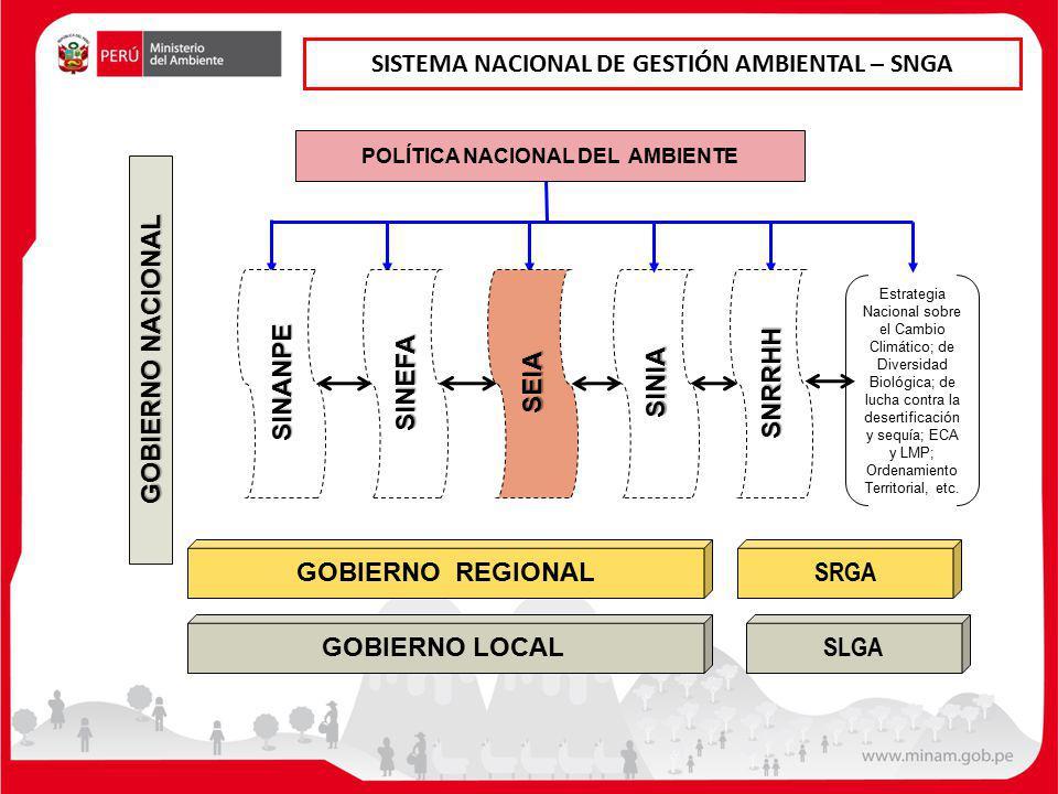 SISTEMA NACIONAL DE GESTIÓN AMBIENTAL – SNGA