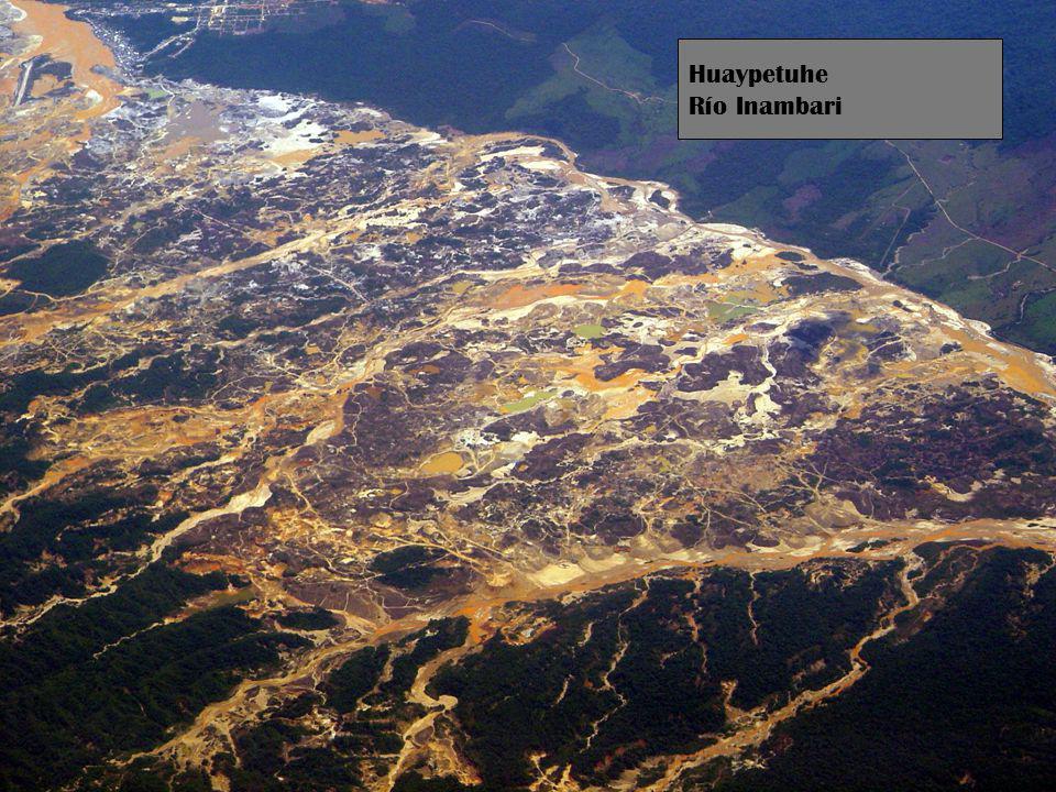 Huaypetuhe Río Inambari