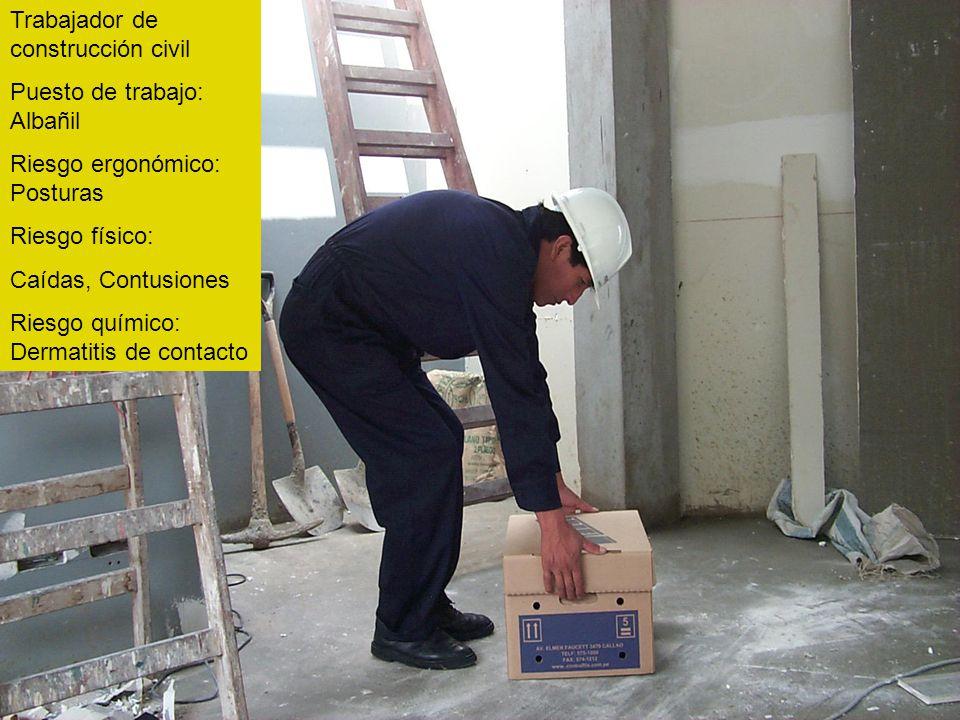 Trabajador de construcción civil