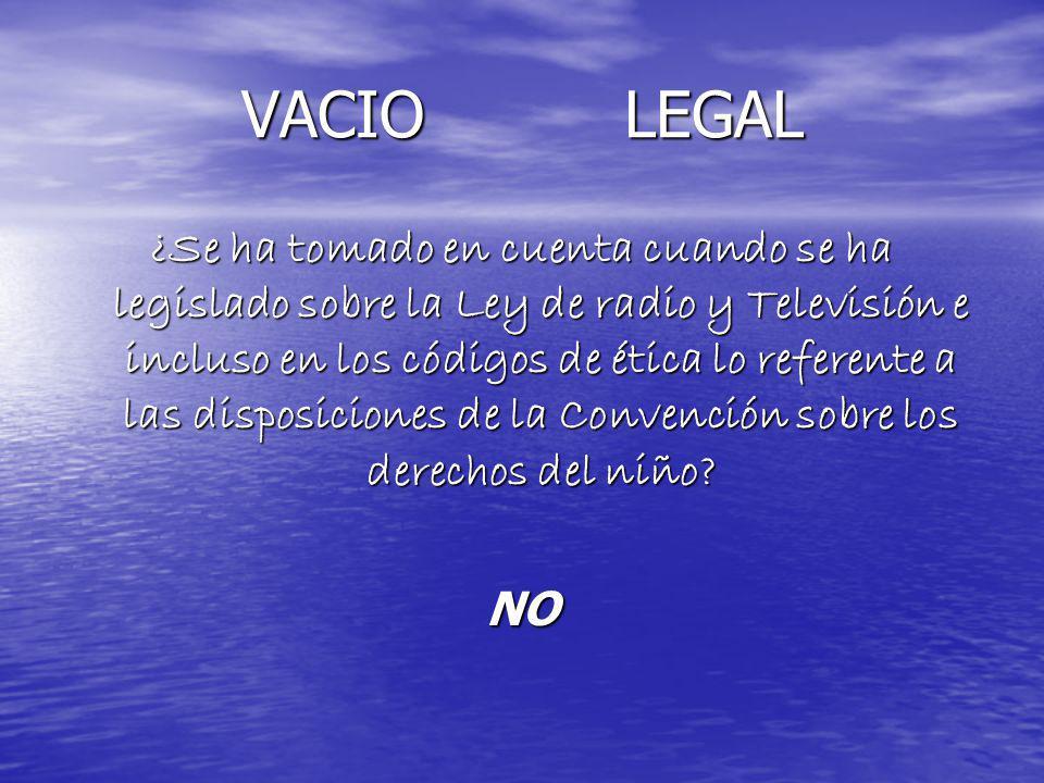 VACIO LEGAL