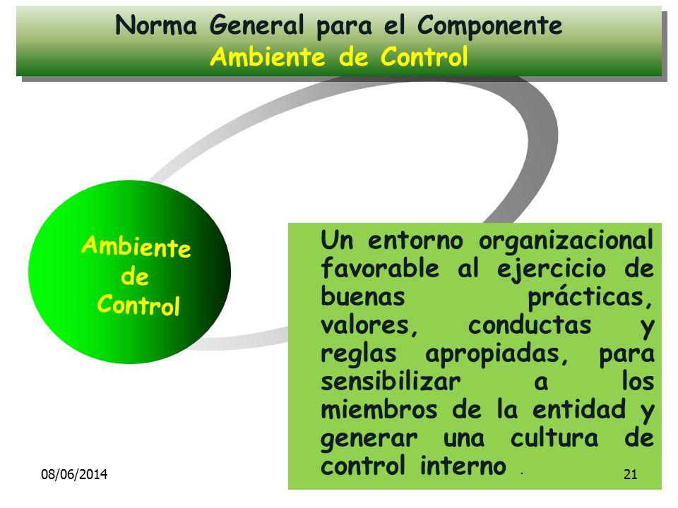 Norma General para el Componente