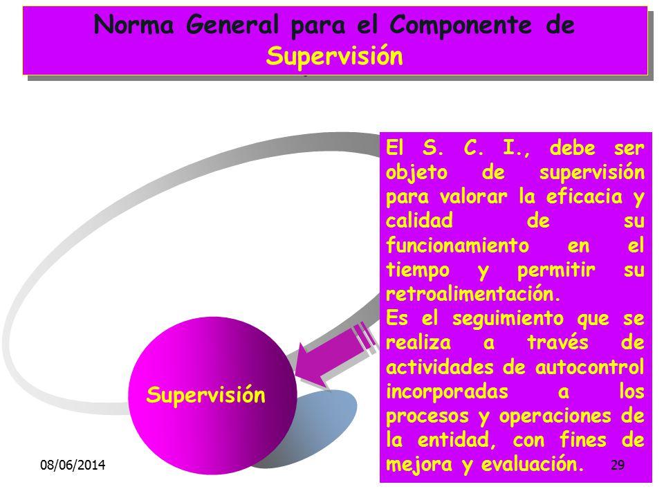 Norma General para el Componente de