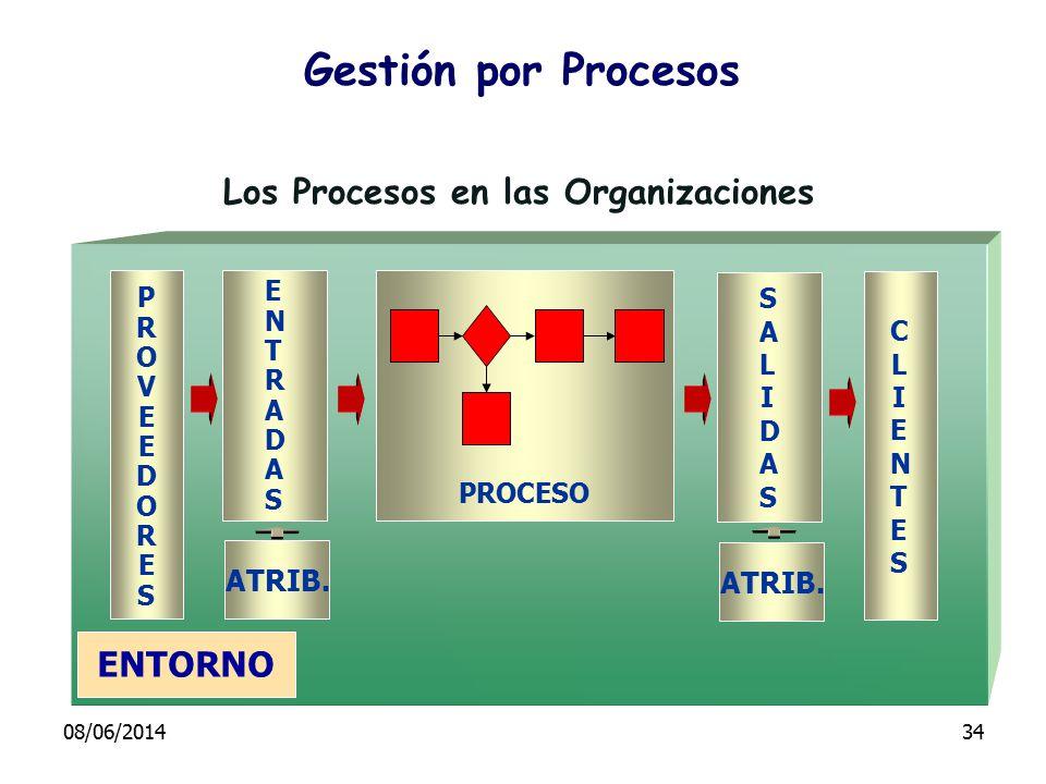Los Procesos en las Organizaciones