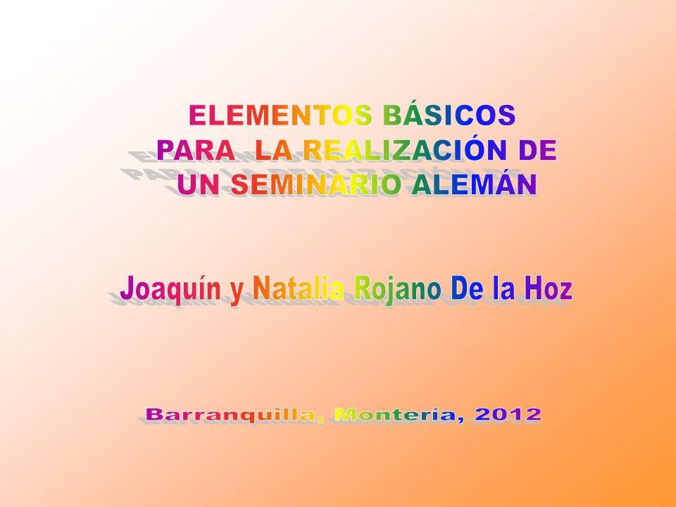 Joaquín y Natalia Rojano De la Hoz