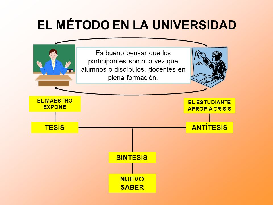 EL MÉTODO EN LA UNIVERSIDAD