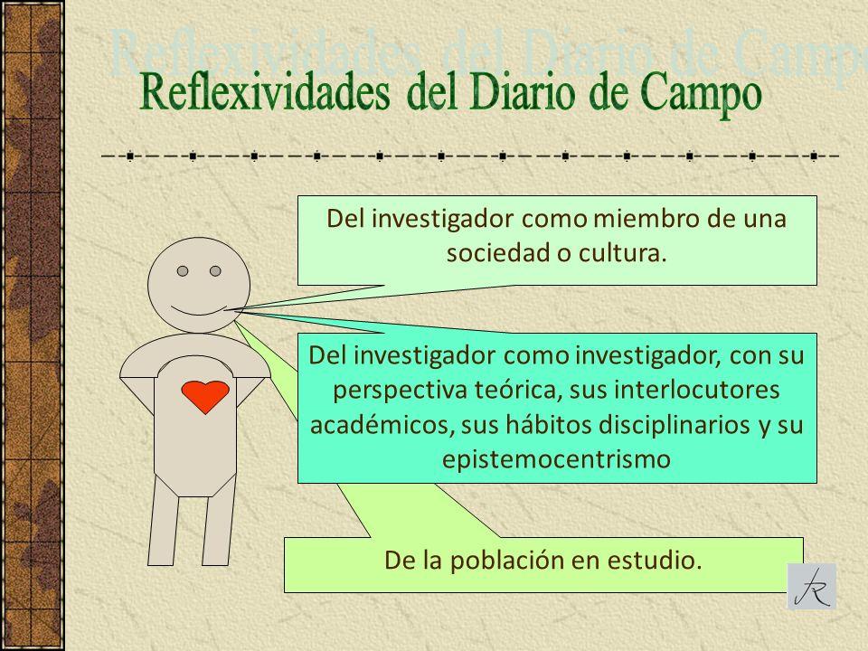Reflexividades del Diario de Campo