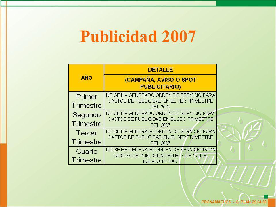 Publicidad 2007