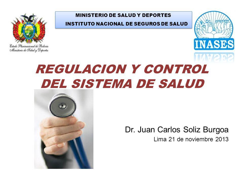 REGULACION Y CONTROL DEL SISTEMA DE SALUD
