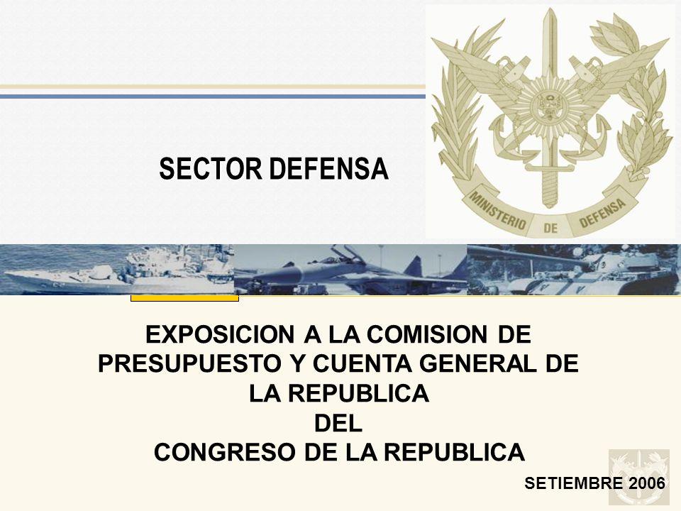 SUSTENTO DE PRESUPUESTO 2005 CONGRESO DE LA REPUBLICA
