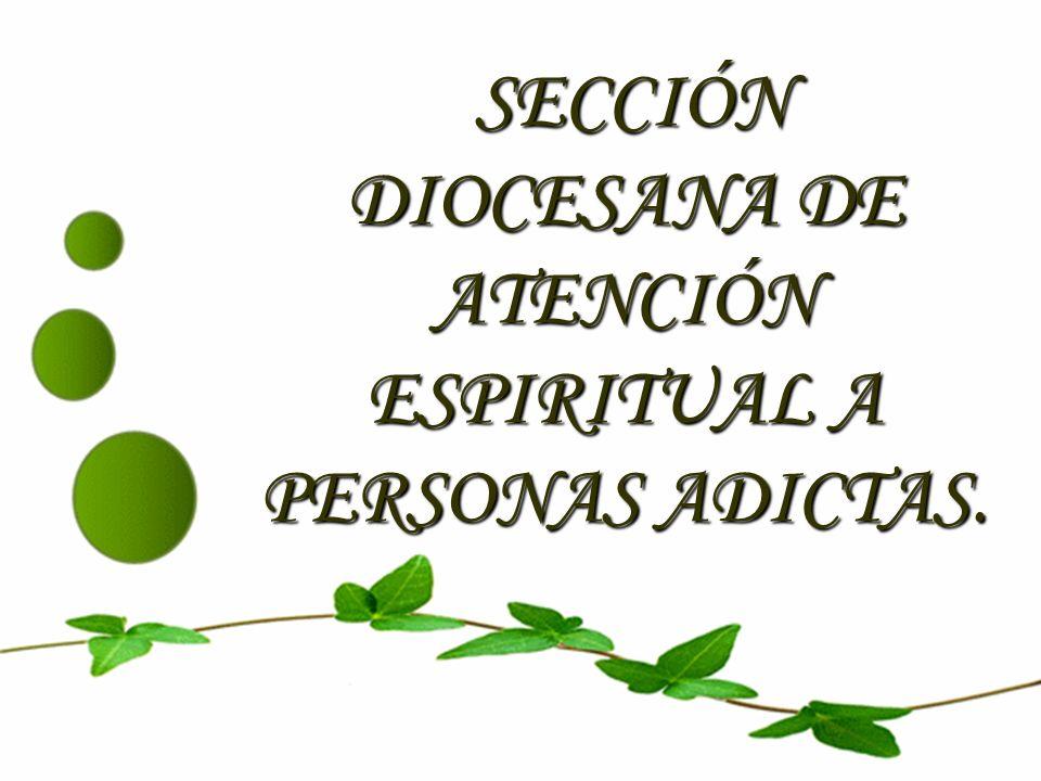 SECCIÓN DIOCESANA DE ATENCIÓN ESPIRITUAL A PERSONAS ADICTAS.