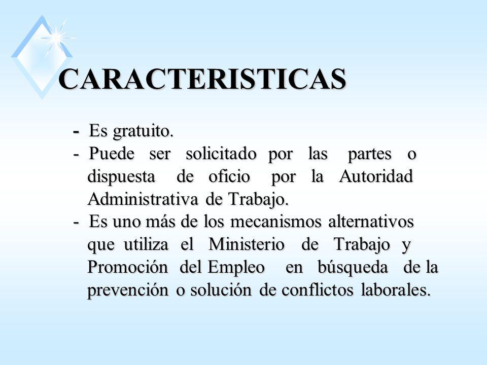 CARACTERISTICAS - Es gratuito