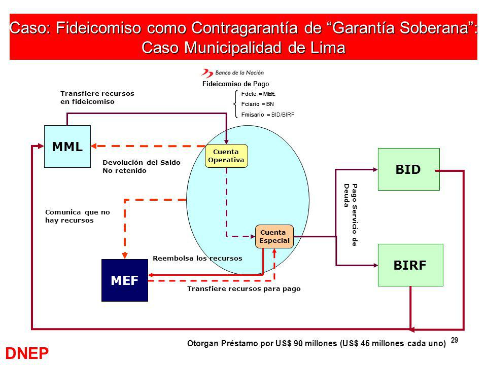 Caso: Fideicomiso como Contragarantía de Garantía Soberana :