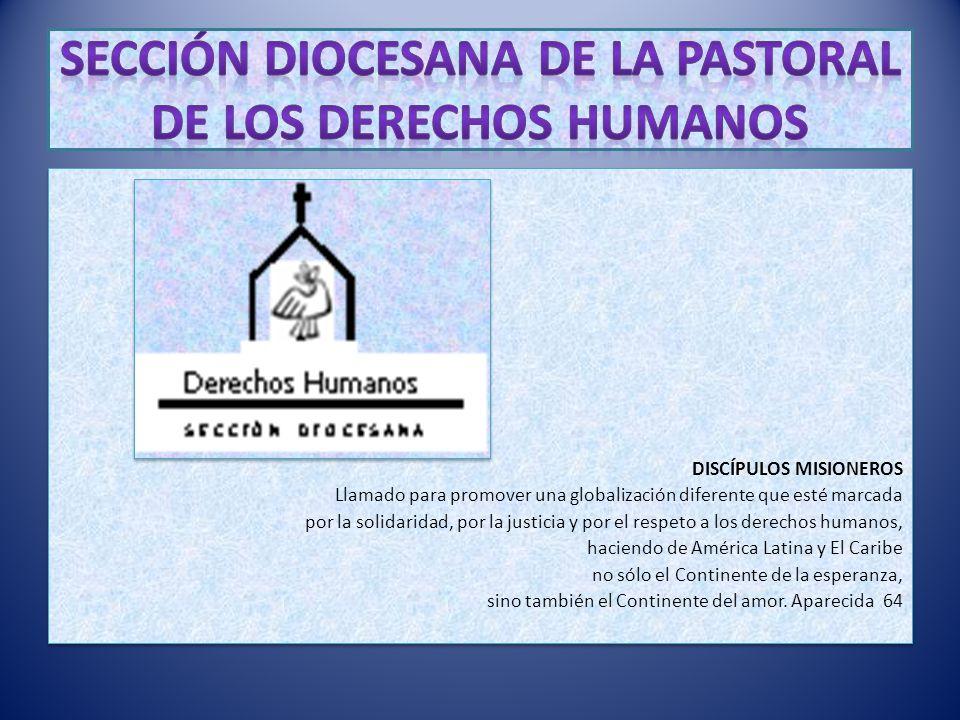 Sección Diocesana de la Pastoral de los Derechos Humanos