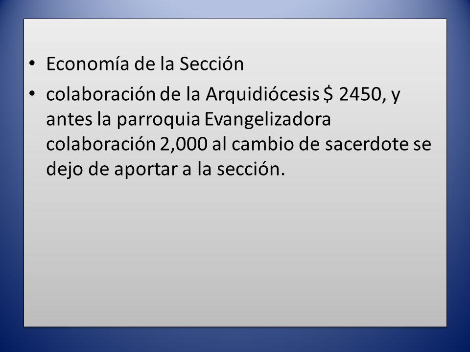 Economía de la Sección
