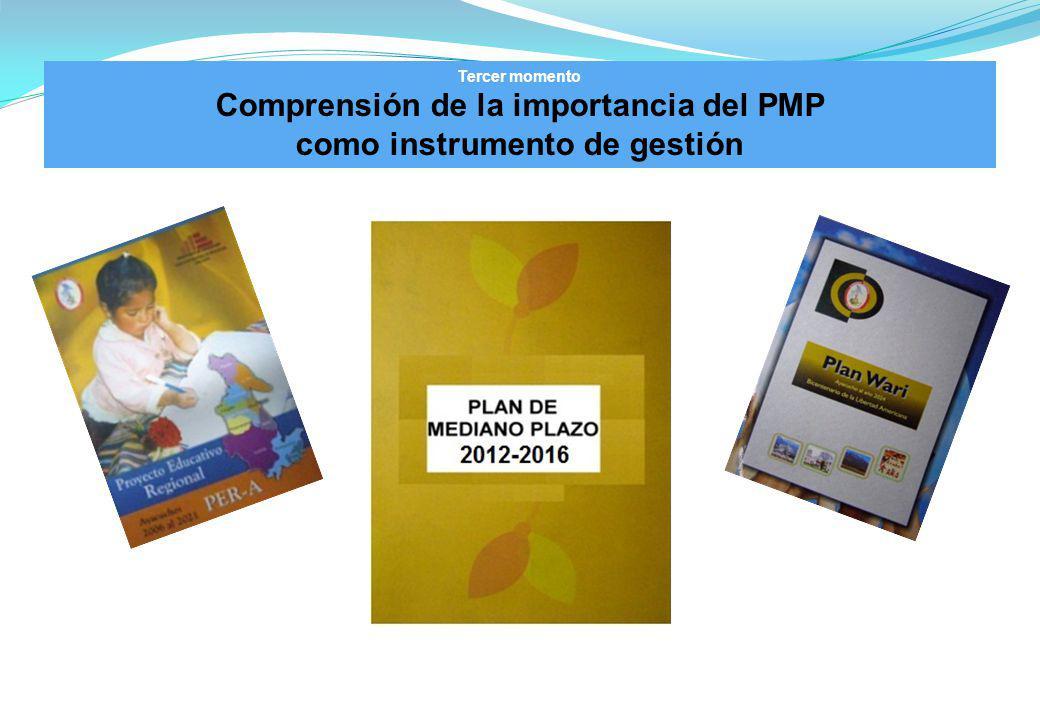 Comprensión de la importancia del PMP como instrumento de gestión