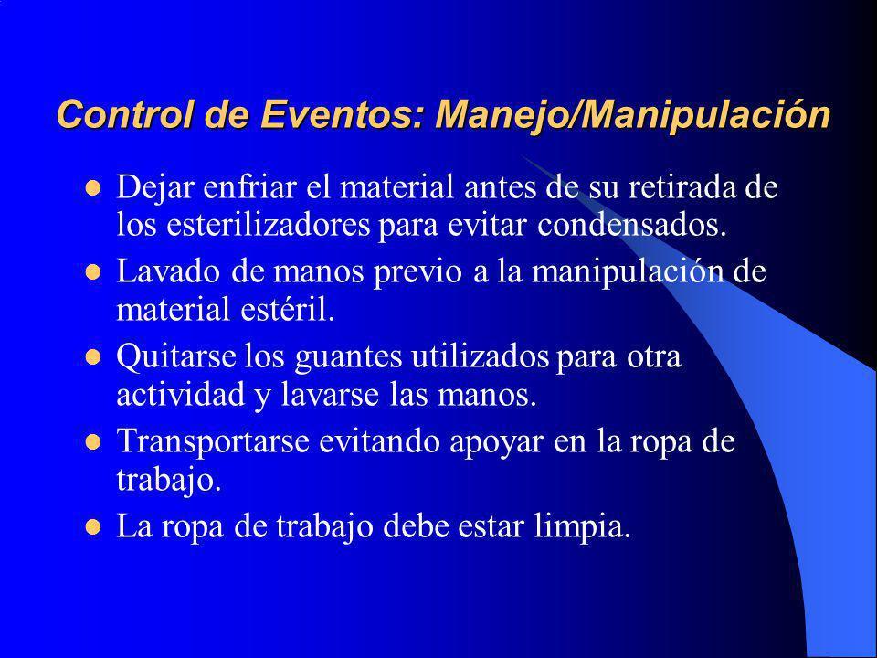 Control de Eventos: Manejo/Manipulación