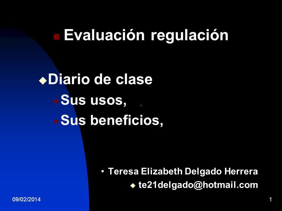 Evaluación regulación