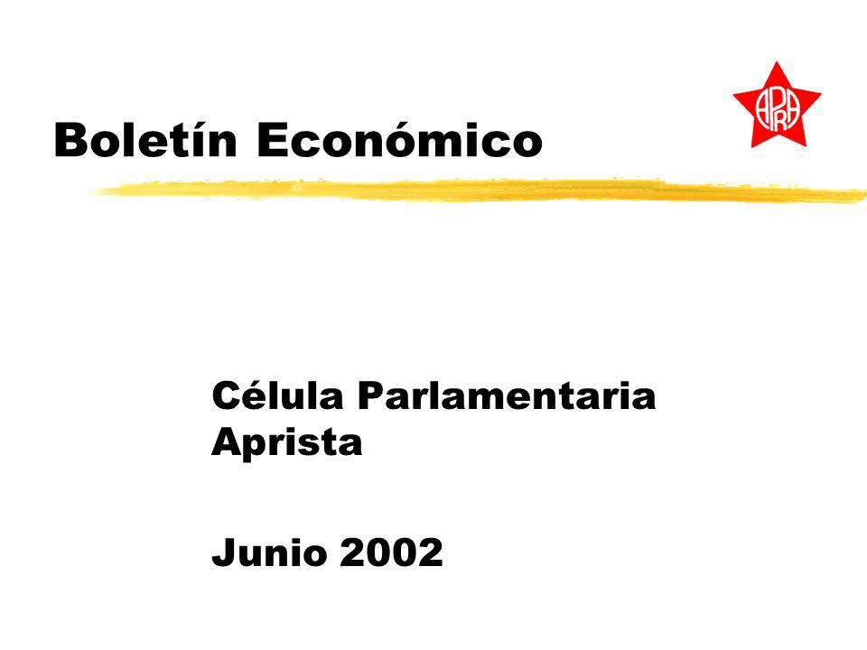Célula Parlamentaria Aprista Junio 2002