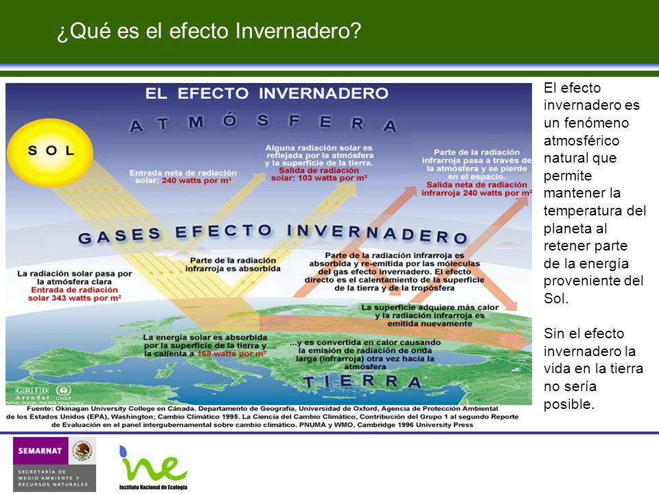 ¿Qué es el efecto Invernadero