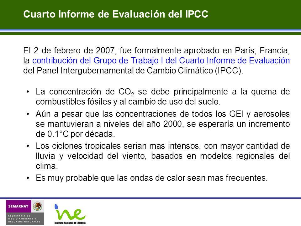 Cuarto Informe de Evaluación del IPCC