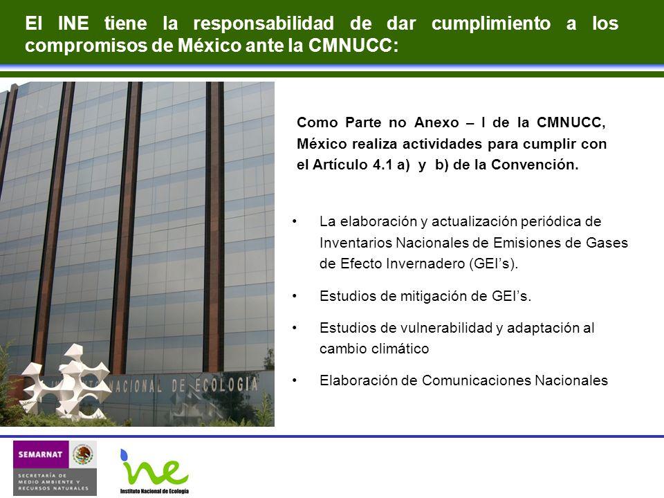 El INE tiene la responsabilidad de dar cumplimiento a los compromisos de México ante la CMNUCC: