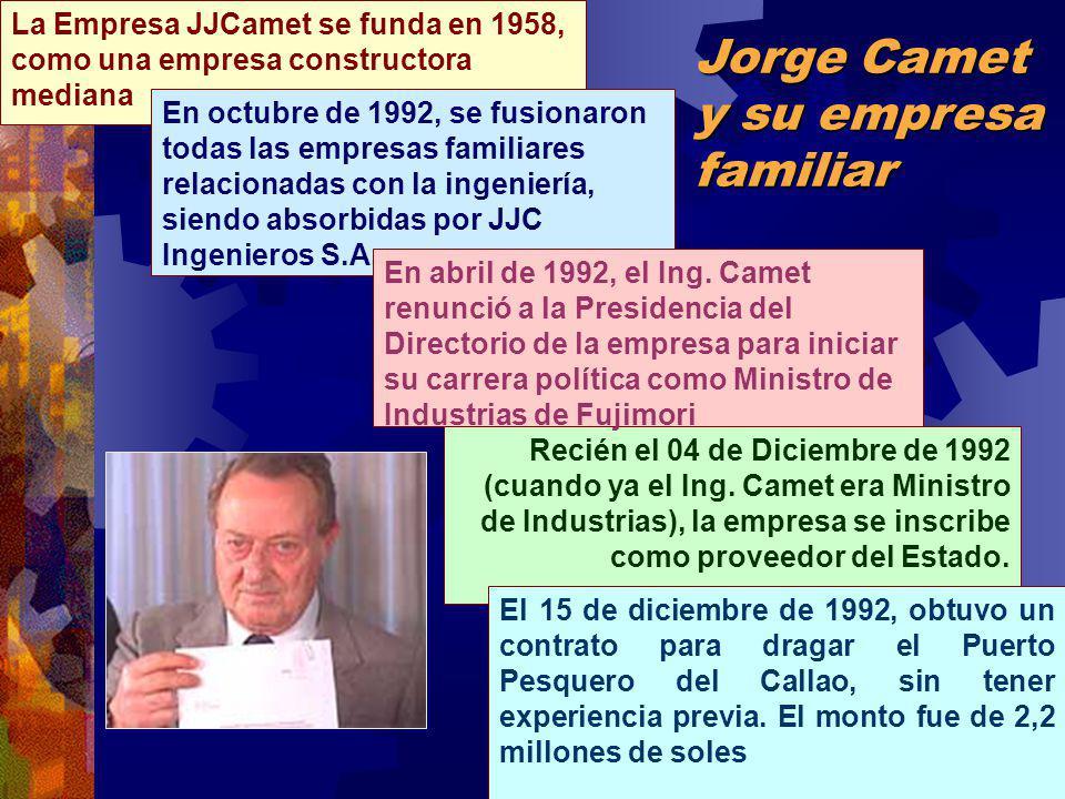 Jorge Camet y su empresa familiar