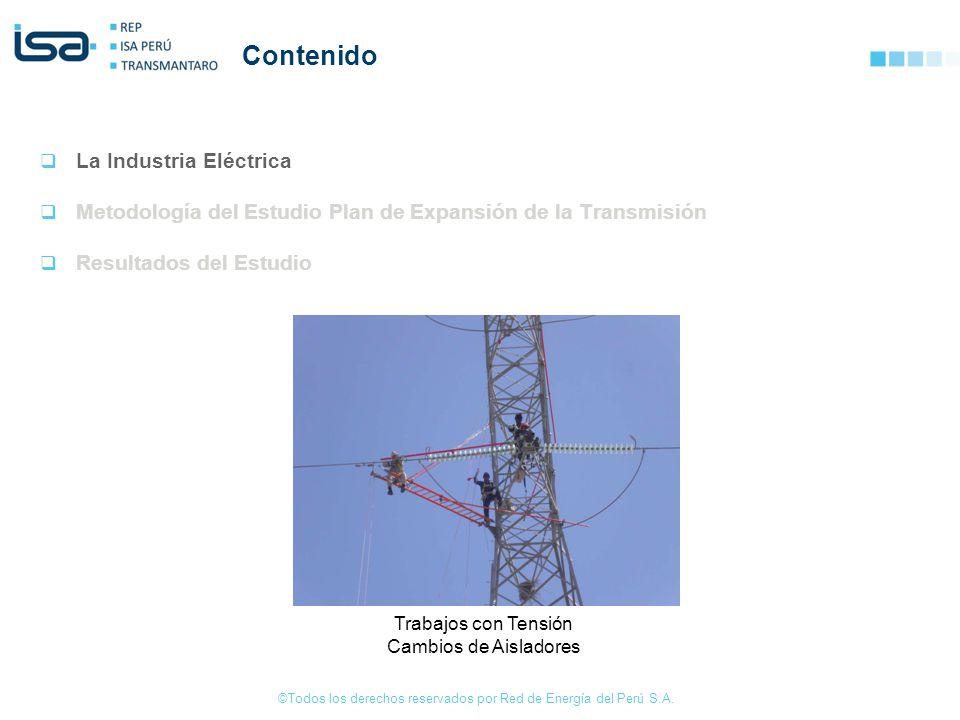 Contenido La Industria Eléctrica