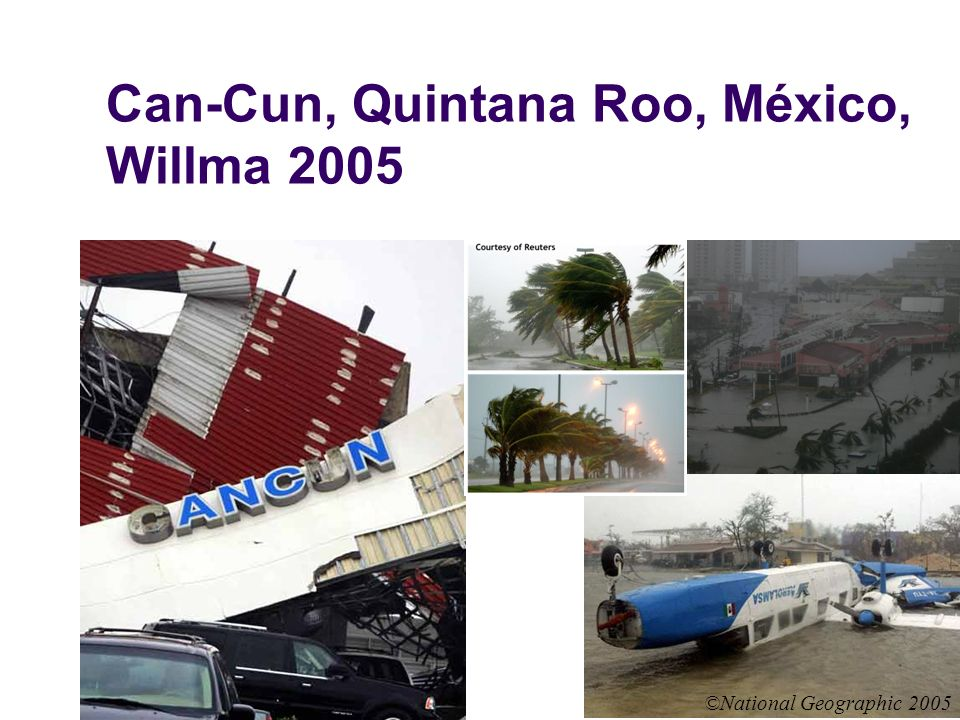 Can-Cun, Quintana Roo, México, Willma 2005