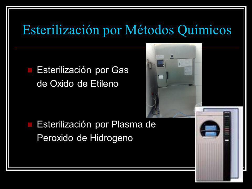 Esterilización por Métodos Químicos