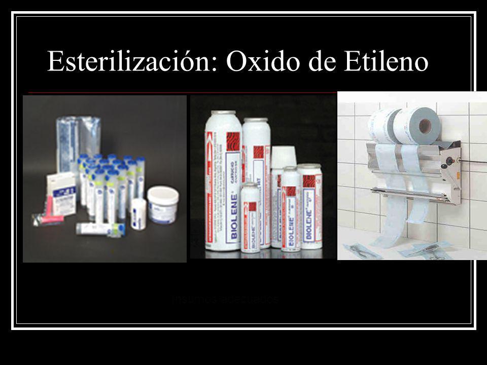 Esterilización: Oxido de Etileno