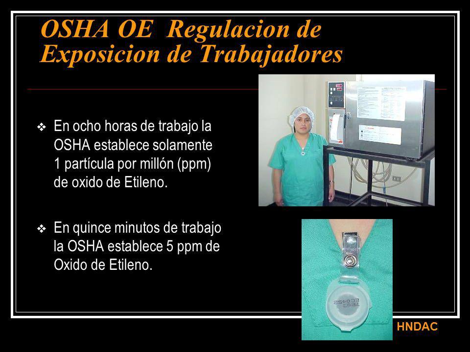 OSHA OE Regulacion de Exposicion de Trabajadores
