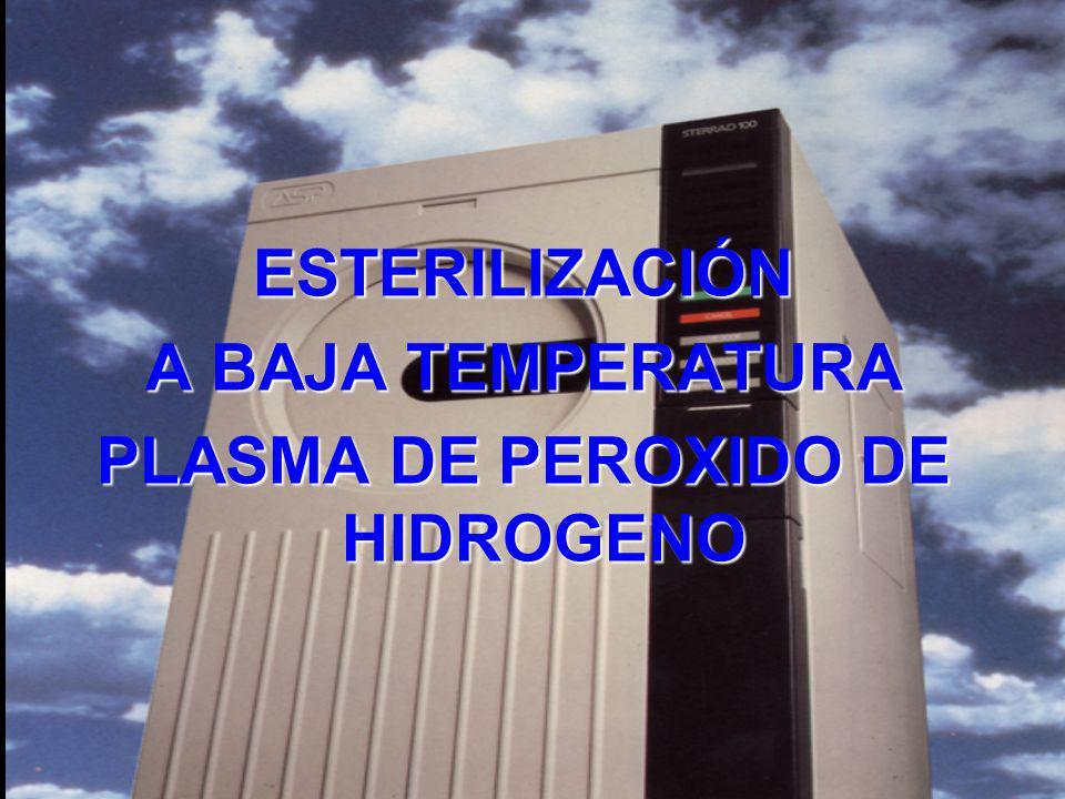 PLASMA DE PEROXIDO DE HIDROGENO