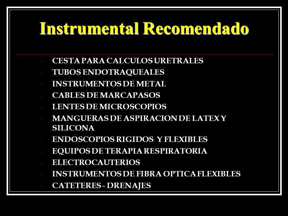 Instrumental Recomendado