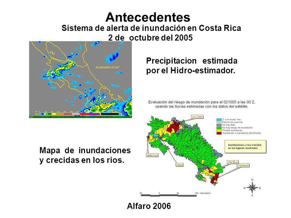 Sistema de alerta de inundación en Costa Rica