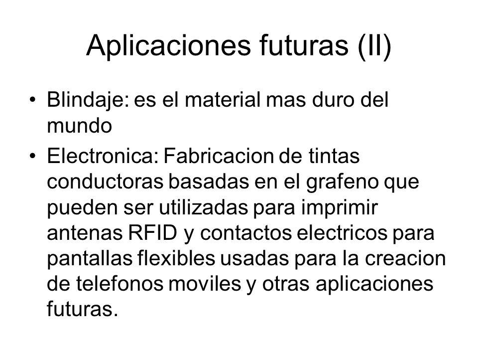 Aplicaciones futuras (II)