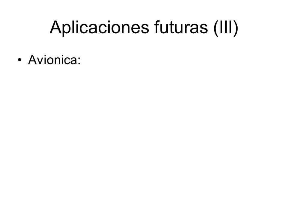 Aplicaciones futuras (III)