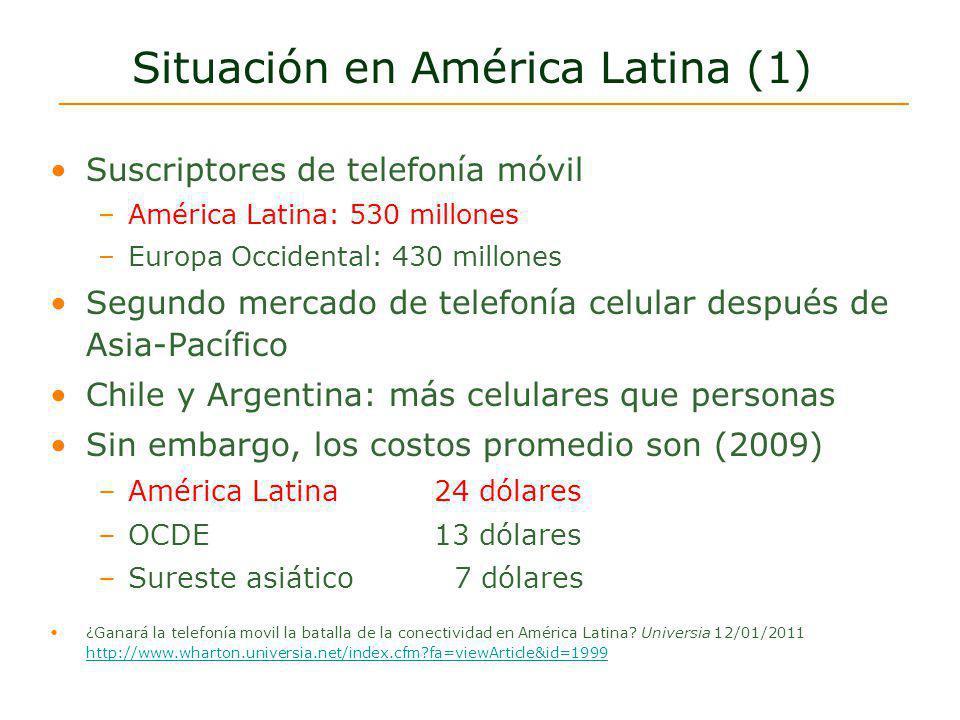 Situación en América Latina (1)