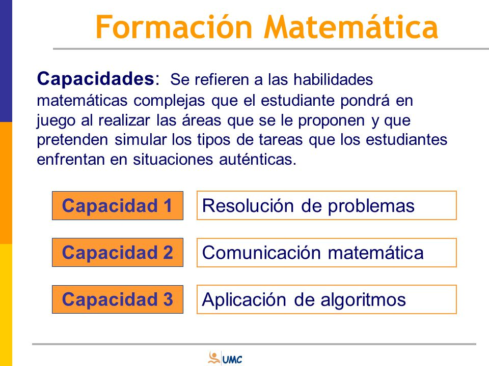 Formación Matemática