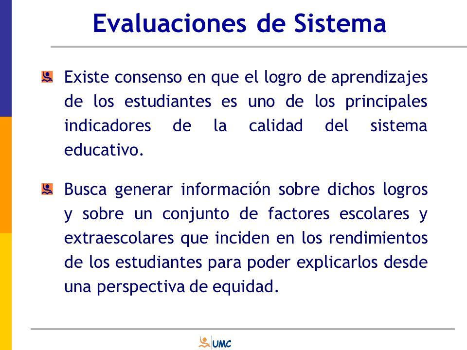 Evaluaciones de Sistema