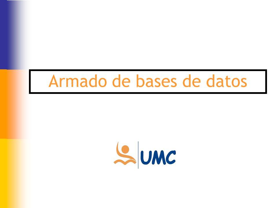 Armado de bases de datos