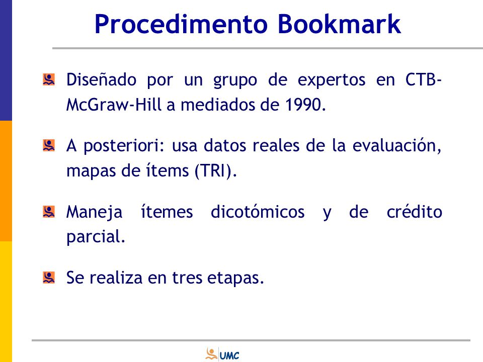 Procedimento Bookmark