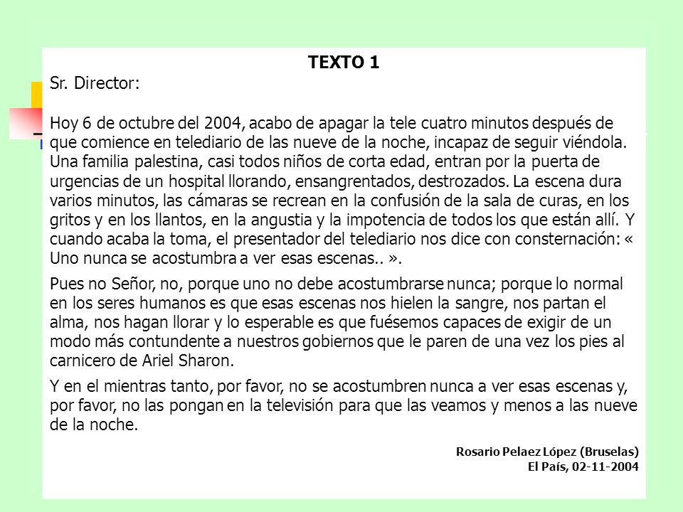 TEXTO 1 Sr.