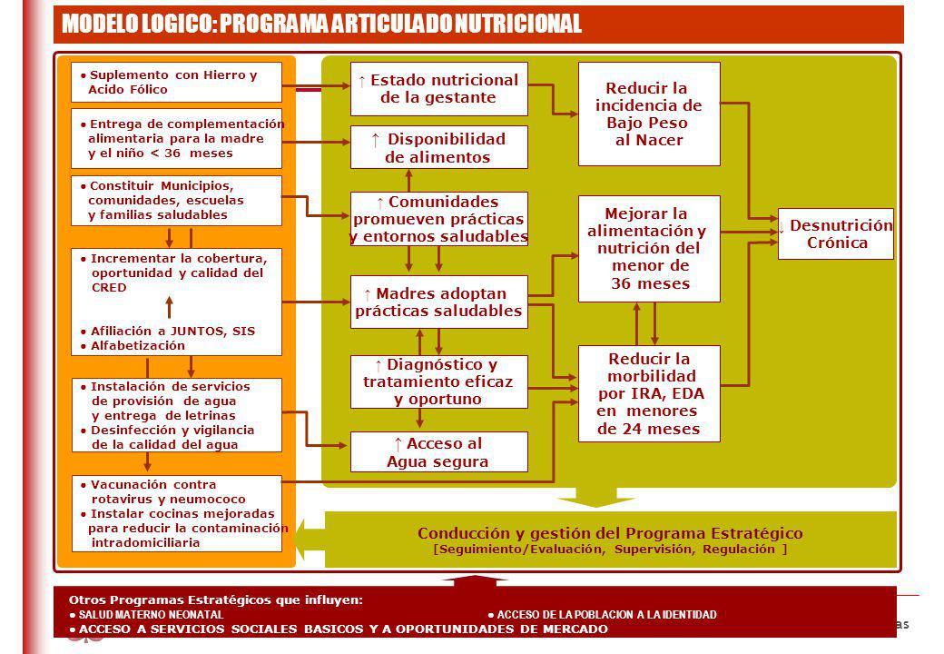 Definiciones básicas Programa Presupuestal: