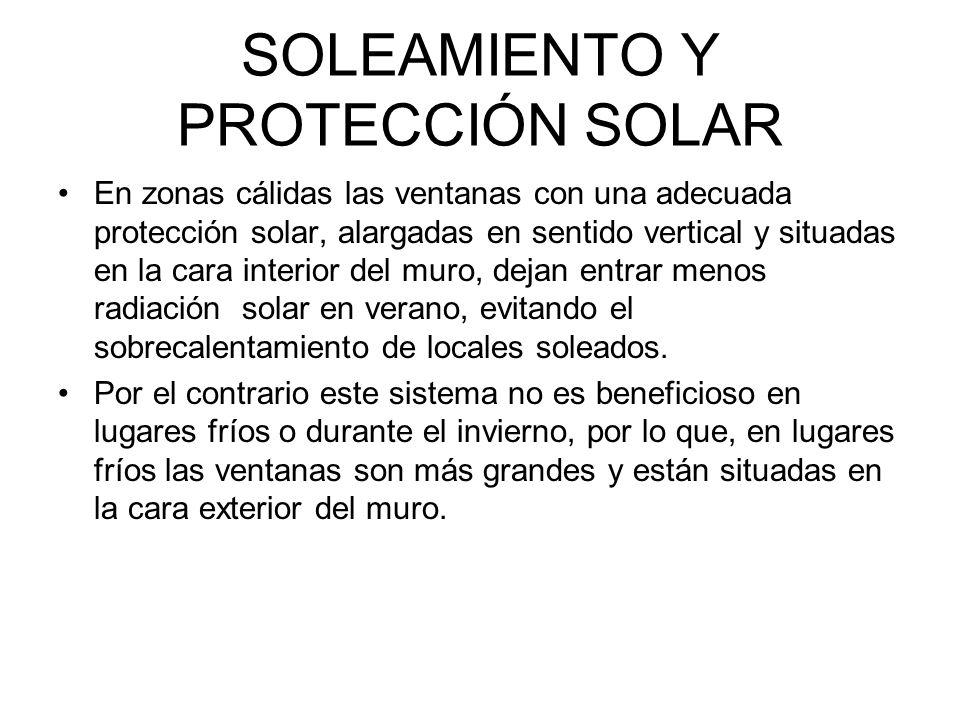 SOLEAMIENTO Y PROTECCIÓN SOLAR